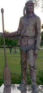 Statue of Chief Big Foot by Jay Brost