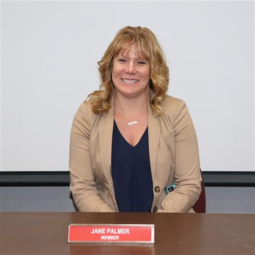 School Board Member Jane Palmer