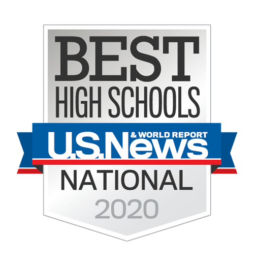 US News & World Report Best High School Badge